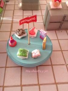 Supermercado pasta modelar