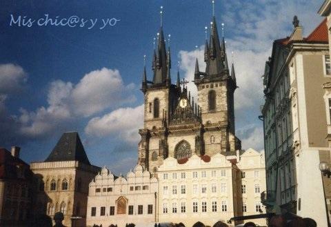 Iglesia Týn. Praga con niños