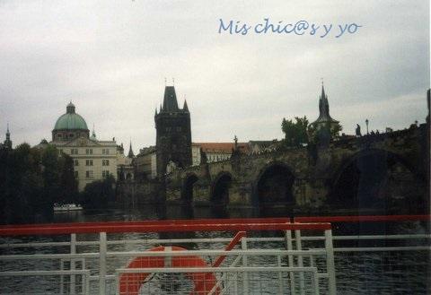 Crucero por el Moldava, Praga