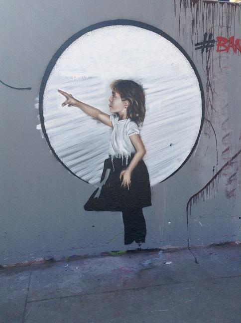 Reinterpretación de Banksy