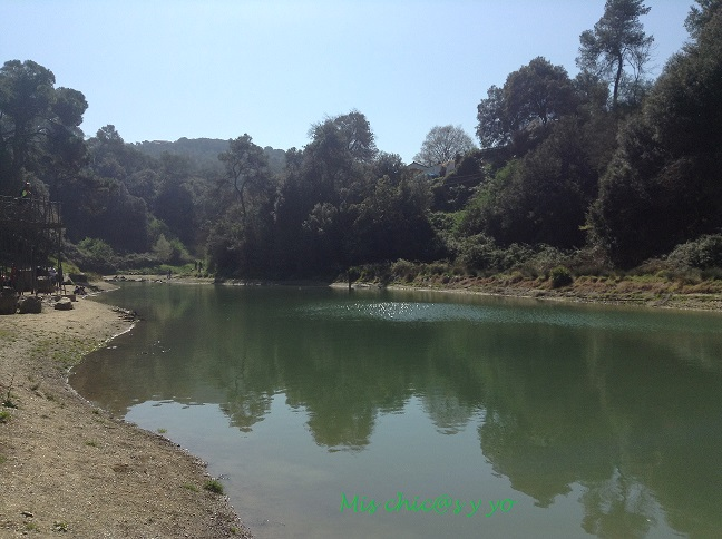 Ruta por el Pantà de Vallvidrera