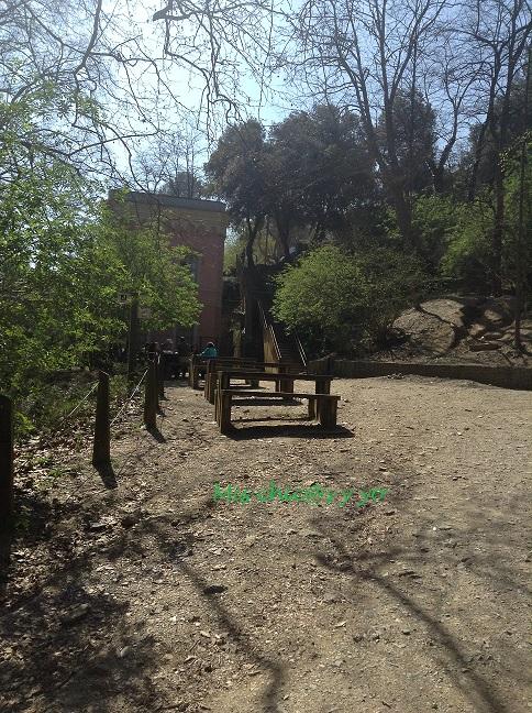 zona picnic Vallvidriera