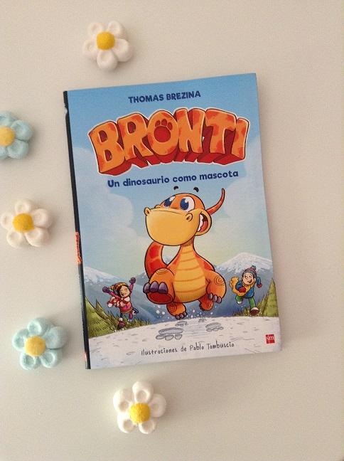 Bronti. Un dinosaurio como mascota