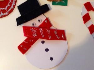 imanes decorativos para Navidad
