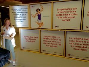 Exposición en el Hospital de Sant Pau