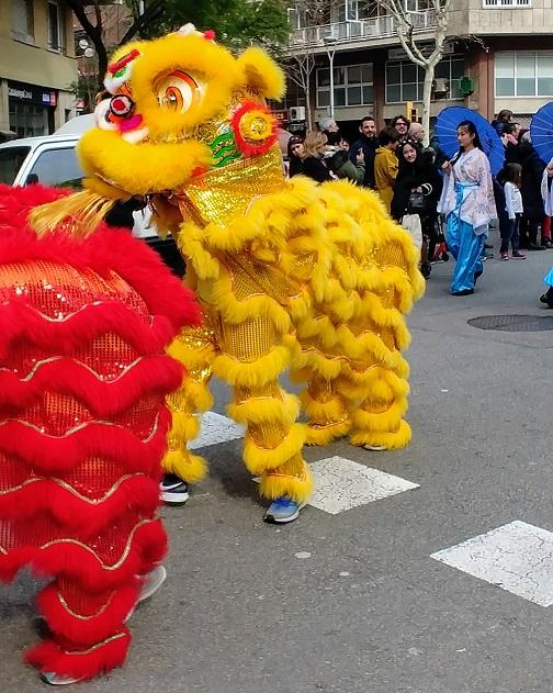 Desfile de año nuevo chino Barcelona