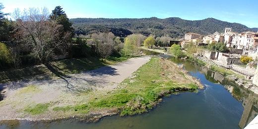 río Fluvià, Besalú