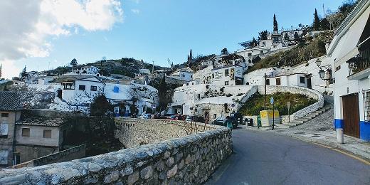 Barrio Sacromonte Granada