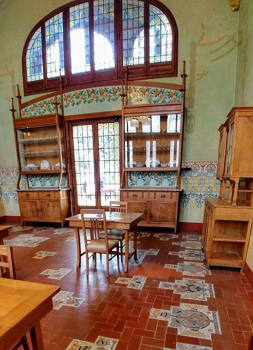 Institut Pere Mata cocina