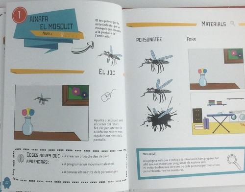 Programa como un genio. Crea tus videojuegos con Scratch. Páginas interiores