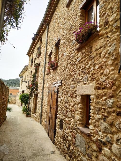 Casas de piedra en Caldes de Montbui