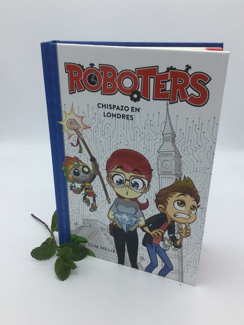 Roboters. Chispazo en Londres. Portada