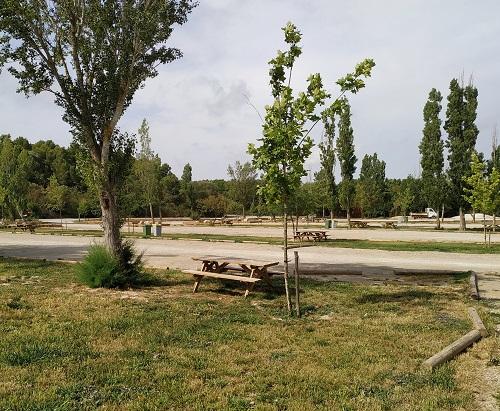 Zona pícnic en la Reserva Africana de Sigean