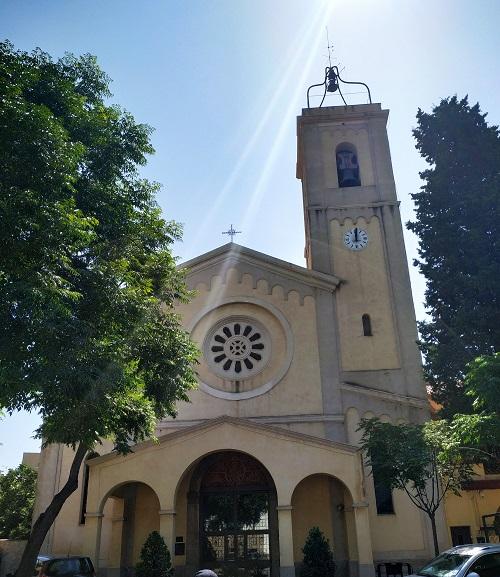 Iglesia de Esplugues, Ruta de la mà d'Esplugues