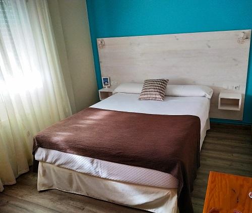 Dormitorio de los apartamentos Rodeiramar 2a
