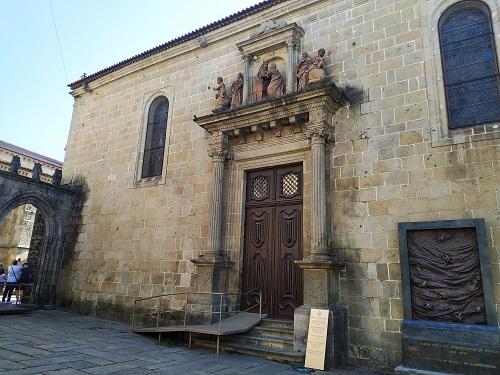 Fachada de la iglesia de la misericordia