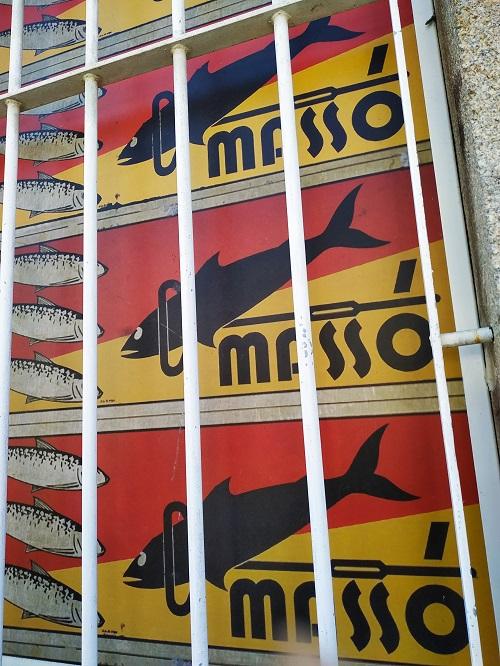 Cartel Museo Massó, Bueu