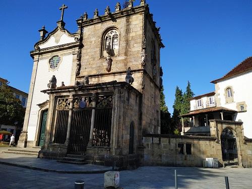 Fachada de la Capela dos Coimbras