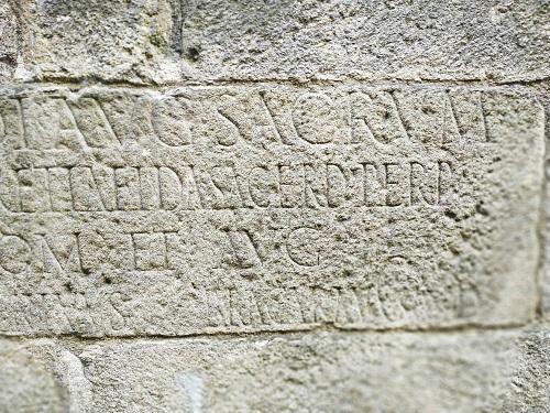 Inscripción epigrafía, Braga