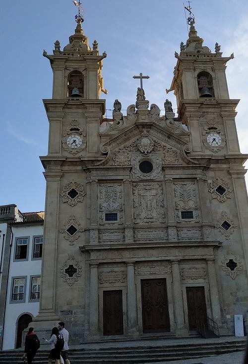 Fachada de la Iglesia de la Santa Cruz, Braga
