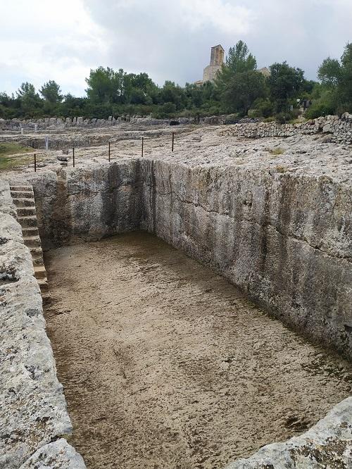 Cisterna romana, Olèrdola