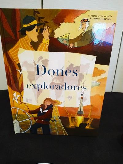 Mujeres exploradoras, libro para niños