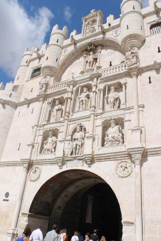Arco de Santa María, Burgos