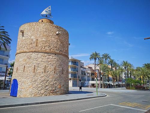 Torre blava, Vilanova