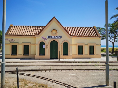 Estación de tren de Ribes Roges