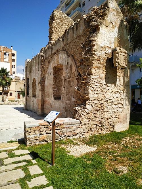 Restos de un antiguo convento en Vinaròs