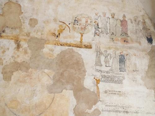 Frescos, sala De Profundis