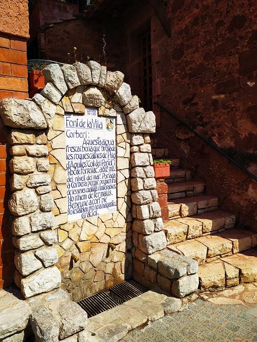Font de la Vila, Corbera