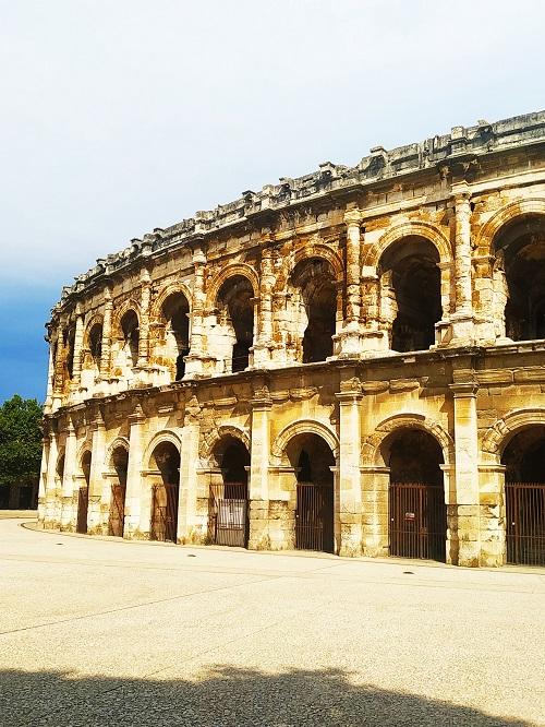 Arenas de Nimes Anfiteatro romano