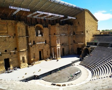 Gradas teatro romano orange
