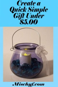 Candle holder gift $5