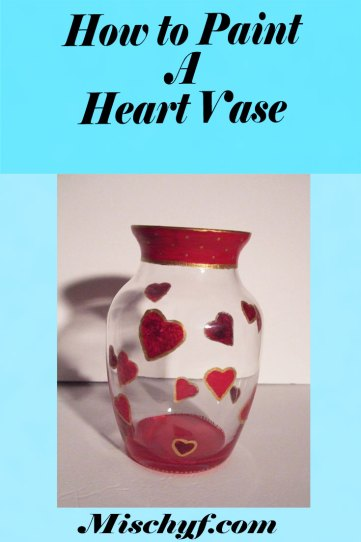 How to paint a heart vase with FolkArt Multi-Surface paints.