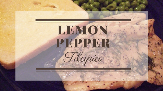 Lemon Pepper Tilapia Bake Recipes