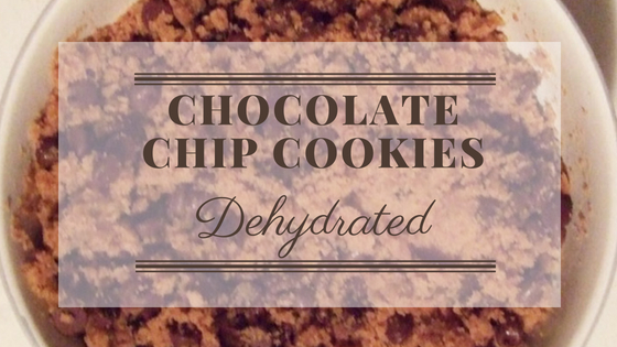 Chocolate Chip Cookies – Dehydrated Not Baked
