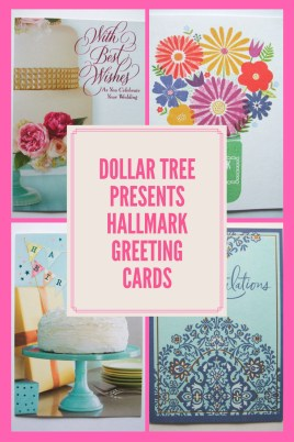 Did you know that Dollar Tree now has Hallmark greeting cards? Hallmark Greetings at Dollar Tree.