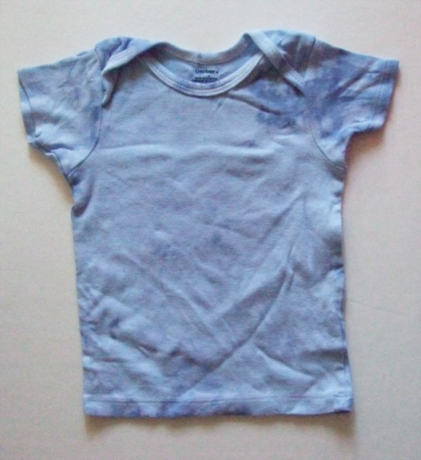Baby Blue Hand Dyed T-Shirt