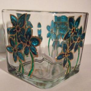 Forget Me Not Candle Holder