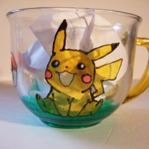 Pikachu Pichu Pokemon Mug, Juice, Drinking, Coffee, Tea, Hot Chocolate