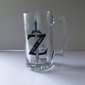 Master Sword Stein, The Legend of Zelda Mug Large 26oz