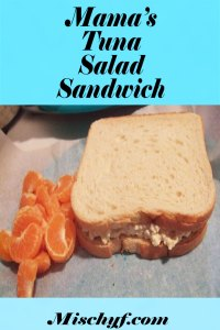 Mama's tuna salad sandwich recipe