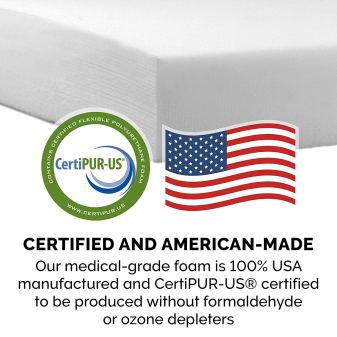 Certified Foam Filler made in the USA