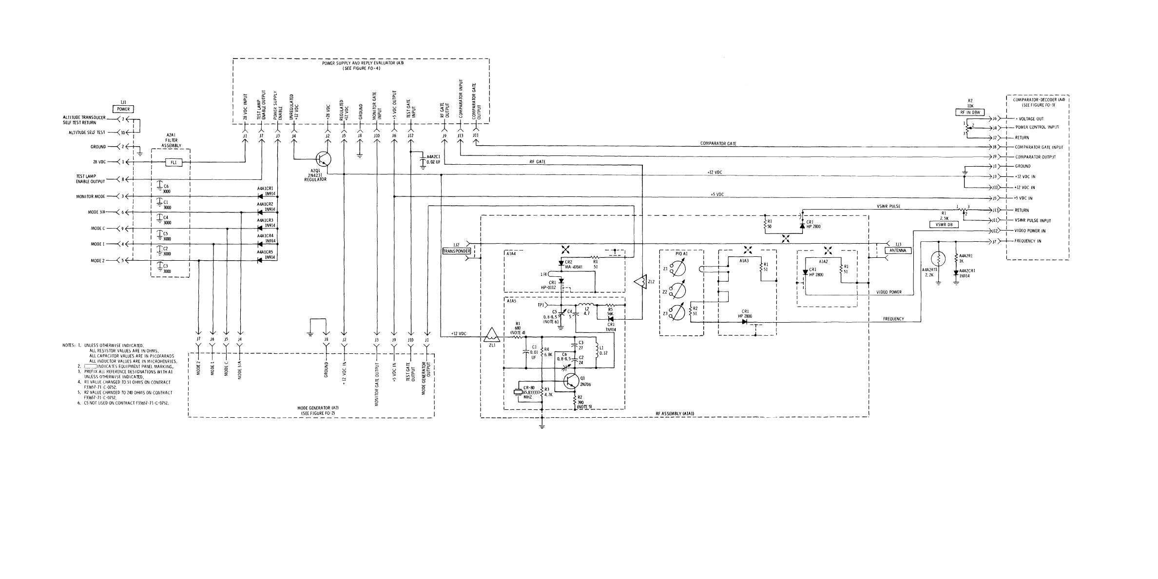 Figure Fo 5 Main Frame Assembly Al Schematic Diagram