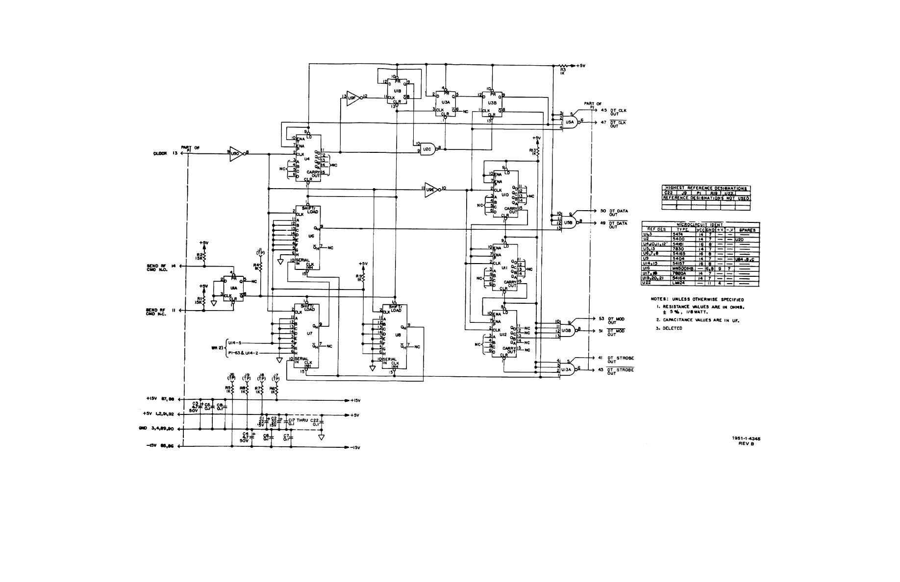 Figure Fo 11 Rf Processor Simulator Cca A5 Schematic