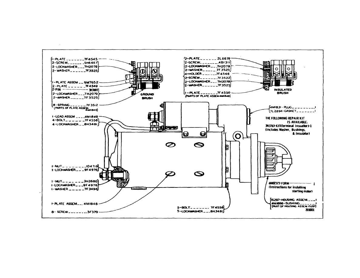 Caterpillar Industrial Engine