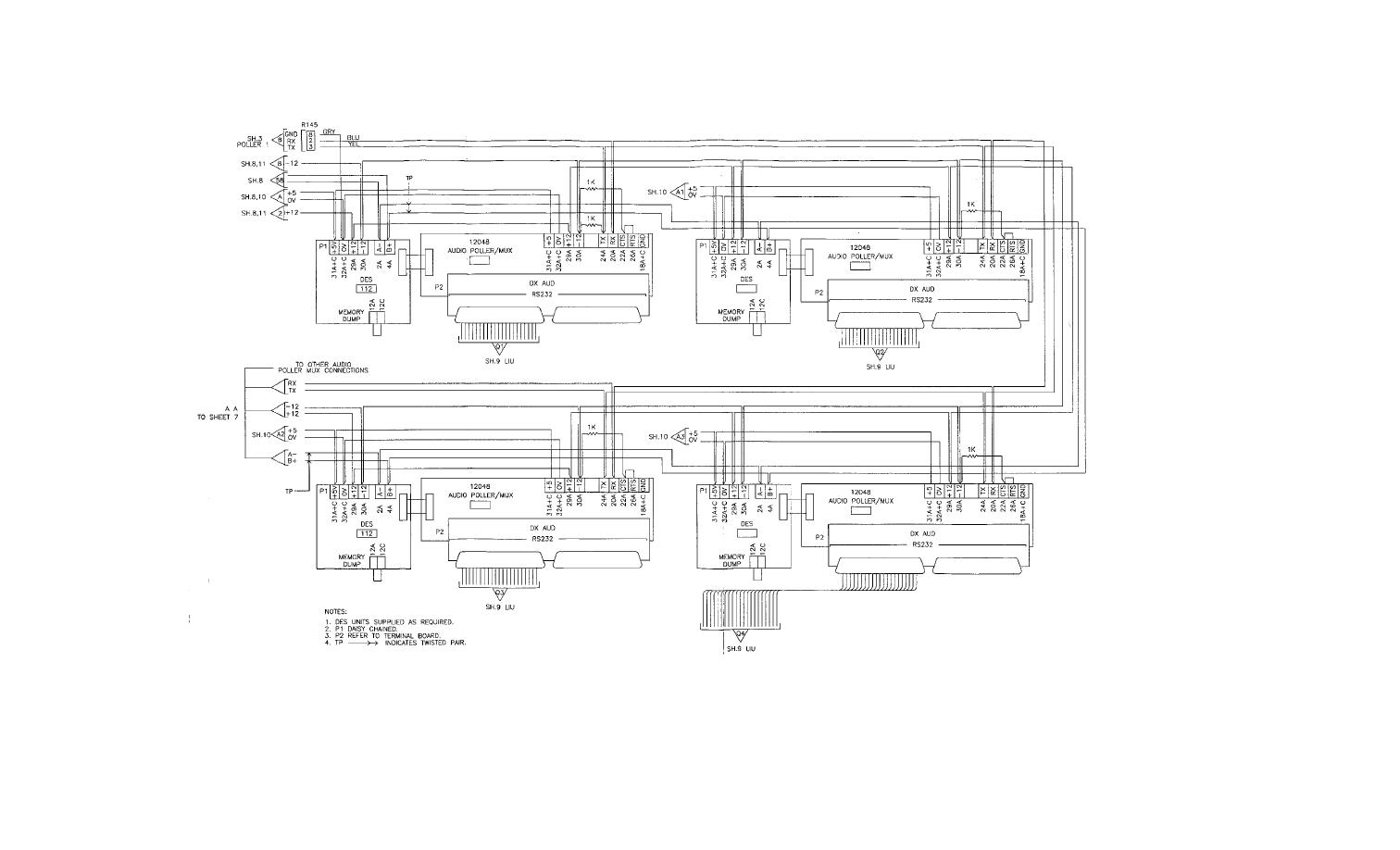 Fo 2 Pmc Functional Wiring Block Diagram Sheet 5 Of 11