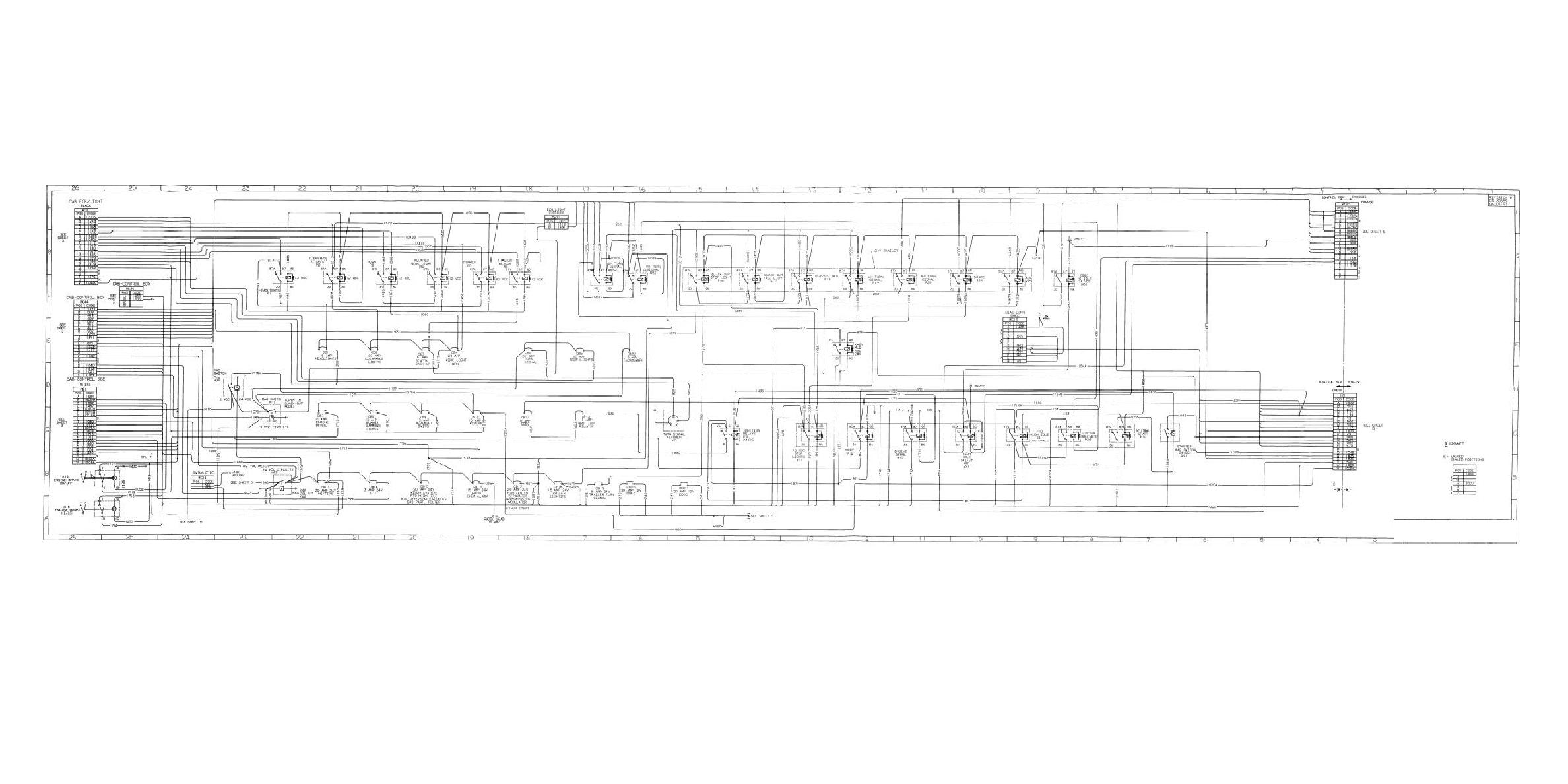 Figure Fo 1 Electrical System Schematic Foldout 5 Of 11